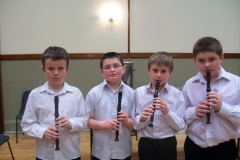 Ardee-Concert-Band-Recorder-Group-members-Barry-CousinsLorcan-ConlonConor-Horan-and-Evin-Kerr-1