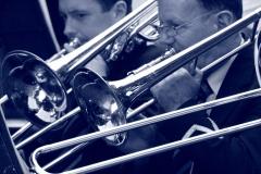 paul___andrew_trombones_bw